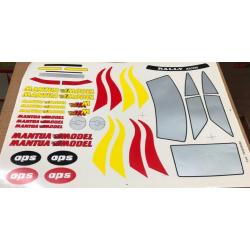 Delta Plastik Decals for Porsche 911 Body (1/8)
