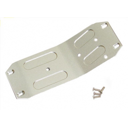 GPM Alloy Center Skid Plate (Purple) fits HPI Savage