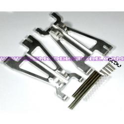 GPM Savage Kit bracci inferiori in ergal (purple)