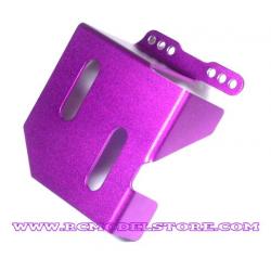 GPM Savage protezione serbatoio in ergal (silver)