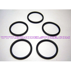 Novarossi .12 Engine O-Ring for Rear Engine Cover (5pcs)
