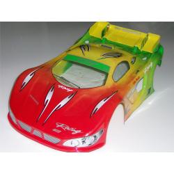Delta Plastik McLaren 3 1/8 Rally Game Body (Lexan 1,5mm)