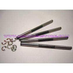 C0163 Mugen Lower Suspension Hinge Pin Long (4pcs)