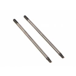 HP86055 Shock Shaft 3x86mm (Silver 2pcs)