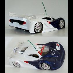 BYSM SM 1 Toy LM 1/8 Rally Game Body (Lexan 1,5mm)