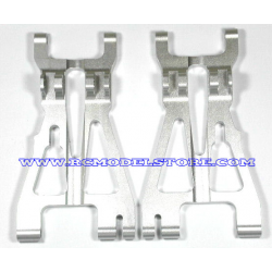 GPM F/R Alloy Lower Arm 1pr (Silver) fits HPI Savage 25 & X