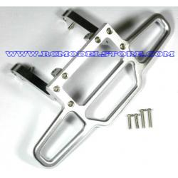 GPM Savage Paraurti anteriore in ergal (silver)