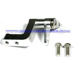 GPM Savage rinvio gas/freno in ergal (silver)