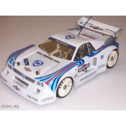 Delta Plastik Lacia Beta 037 1/8 Rally Game Body
