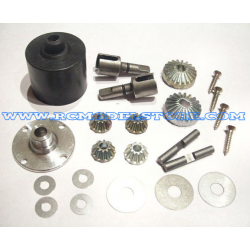 S1008 Kit differenziale completo Anteriore/Posteriore