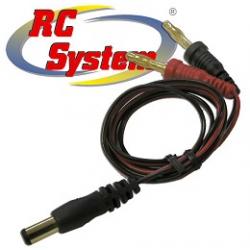 RC System Set cavi per ricarica Tx (JR & ecc)