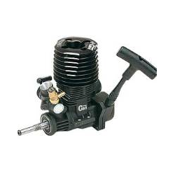 Motore Graupner NitroBull 2,5cc con avviamento a strappo
