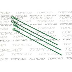 Clips lunghe verniciate per 1/10 (4pz)