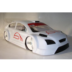 BYSM SM 8 Ford Focus 1/8 Rally Game Body (Lexan 1,5mm)