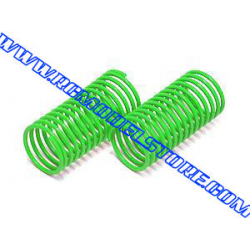 AK-015 Atomic Front Oil Shock Spring Green (Medium)