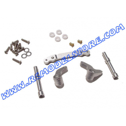 GPM Alloy bearing Steering Assembly (Silver) fits Savage