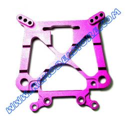 GPM F/R Alloy Damper Plate (Purple) fits HPI Savage X