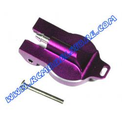 GPM Savage tappo serbatoio in ergal x HPI Savage & X (purple)