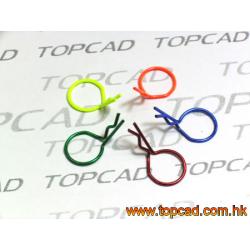 TopCad Clips Carrozzeria piccole a presa facilitata (5pz)