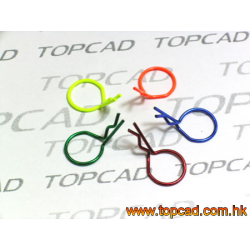 TopCad Color Boby Clips Small (5pcs)
