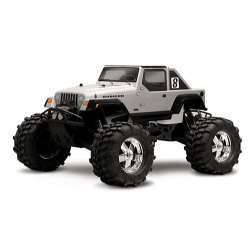 HPI Jeep Wrangler Rubicon Monster Truck Body With Decals