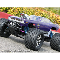 HPI 1970 Plymouth Hemi Cuda Monster Truck Body With Decals