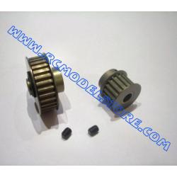 MU0800 Kit puleggie centrali in ergal