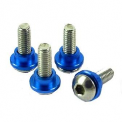Yeah Racing Servo Screw 3mm for all 1/8 & 1/10 scale car (blu)