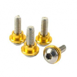 Yeah Racing Servo Screw 3mm for all 1/8 & 1/10 scale car (gold)