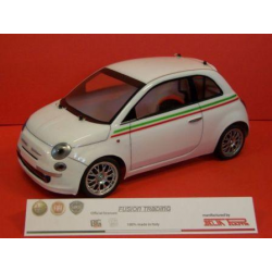 Delta Plastik Fiat Nuova 500 1/10 Touring 200mm Body With Decals