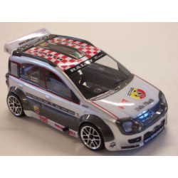 Delta Plastik Fiat Panda 1/10 Touring 200mm Body With Decals