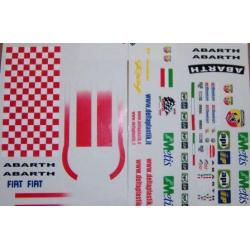 Delta Plastik Adesivi per carrozzeria Fiat Grande Punto Abarth