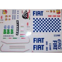 Delta Plastik Adesivi per carrozzeria Fiat Grande Punto Rally