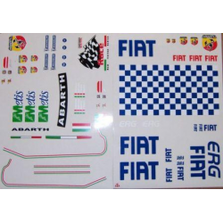 Delta Plastik Decals for Fiat Grande Punto Rally Body (1/10)
