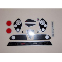 Delta Plastik Decals for Alfa Rome 8C Competizione Body (1/10)