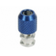 3 Racing Antenna Post (3mm Screw Hole) Blue