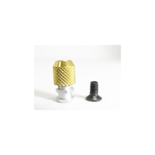 3 Racing Antenna Post (3mm Screw Hole) Gold