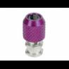 3 Racing Antenna Post (3mm Screw Hole) Purple