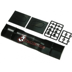 3 Racing 195mm PP Side Wings For 1/10 Gas Power Touring Cars
