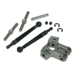 3 Racing Adj. Rear Stabilizer Set For Mugen MTX4