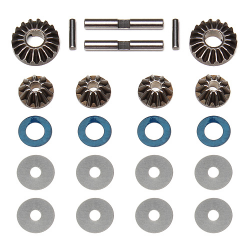 PY89120 Associated RC8 Differential Gears, Washers & Pins