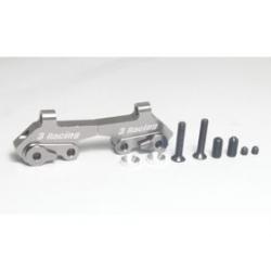 3 Racing Supporti barra antirollio anteriore in ergal per Kyosho
