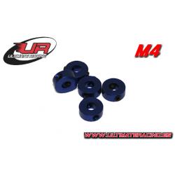 Ultimate Racing Collarini Light 4mm Blu (5pz)
