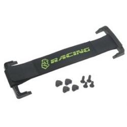 3 Racing Fascia ferma batterie Sub-C a strappo (Giallo fluo)