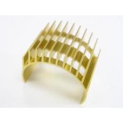 3 Racing Motor Heat Sink For 540 Motor (High Finger) - Gold