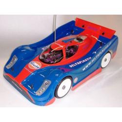 Delta Plastik Lola Aston Martin 1/8 Rally Game Body (Lexan 1,5mm