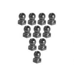 3 Racing Uniball 4.8mm L5 filettati (10pz) Titanio