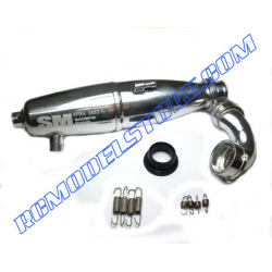 SM Sirio New 2009 EFRA 2653 1/10 Inline Tuned Pipe Set