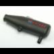 Vantage Racing 1/10 Carbon Pipe fits Traxxas Revo