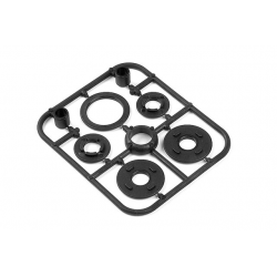 335800 Xray NT1 Composite Belt Pulley Cover Set